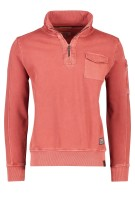 Camel Active Trui Rood Effen Normale fit