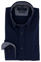Casa Moda overhemd donkerblauw Casual Fit