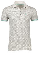 Cast Iron Polo Shirt Wit Print Slim fit