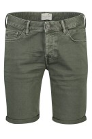 Cast Iron Short Groen Effen Normale fit