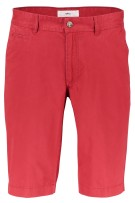 Chino shorts Brax regular fit rood