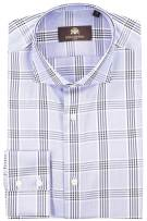 Circle of Gentlemen shirt blauw donkerblauw geruit