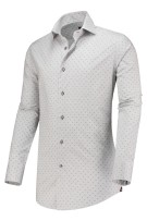 Circle of Gentlemen shirt Kris grijs motief