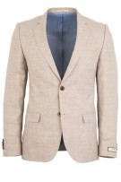 Colbert Magee Beige Tailored Fit Linnen