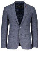 Colbert Roy Robson blauw slim fit