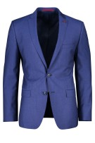 Colbert Roy Robson Mix & Match Donkerblauw Gestreept Slim fit
