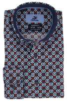 Culture Blauw Print Normale fit