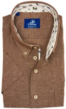Culture casual hemd bruin button  down