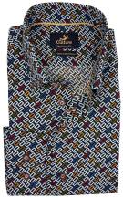 Culture Donkerblauw Print Normale fit