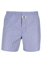 Deal boxer short los model gestreept blauw