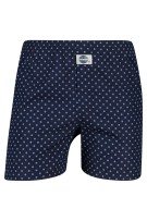 Deal Boxershort Donkerblauw Print Normale fit