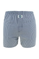 Deal Boxershort Donkerblauw Wit Geruit Normale fit