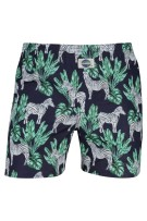 Deal boxershort navy geprint zebra