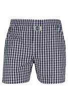 Deal boxershort navy wit geruit