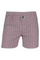 Deal Boxershort Rood Blauw Geruit Normale fit
