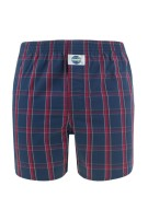 Deal Boxershort Rood Donkerblauw Geruit Normale fit