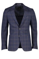 Digel Edward colbert navy geruit modern fit