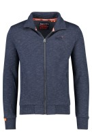 Donkerblauw gemeleerd vest Superdry Orange Label