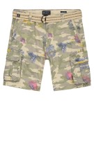 Dstrezzed shorts legerprint groen