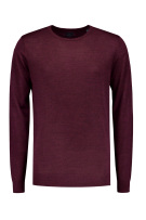 Dstrezzed sweater ronde hals bordeaux