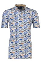 Eden Valley Blauw Print Normale fit