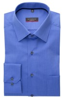 Eterna shirt borstzak widespread Modern Fit blauw