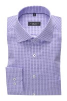Eterna shirt ml 7 Comfort Fit paars geprint