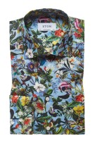 Eton overhemd bloemenprint Contemporary Fit
