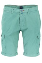 Flat front shorts New Zealand groen