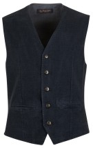 Four.ten Industry Gilet Donkerblauw Effen Slim fit