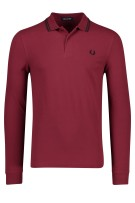Fred Perry Trui Bordeaux Effen Normale fit
