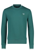 Fred Perry Trui Groen Effen Normale fit