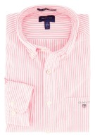 Gant overhemd button down rode streep