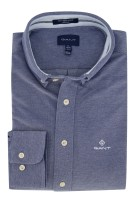 Gant overhemd Regular Fit donkerblauw