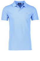 Gant Polo Shirt Blauw Effen Normale fit