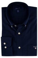 Gant Regular Fit overhemd navy
