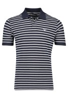 Gestreepte polo Barbour navy wit