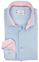 Giordano casual shirt blauw modern  fit