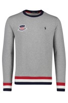 Grijze sweater USA Ralph Lauren