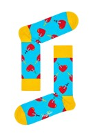 Happy Socks Broken Heart Sock blauw geel