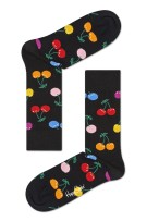 Happy Socks Cherry Sock zwart