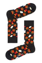 Happy Socks Hamburger Sock zwart