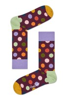 Happy Socks Herensokken Bordeaux Print