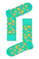 Happy Socks Herensokken Groen Print
