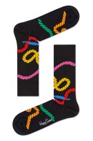 Happy Socks Herensokken Zwart Print