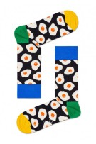 Happy Socks Herensokken Zwart Wit Print