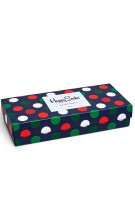 Happy Socks Holiday Gift Box navy rood groen