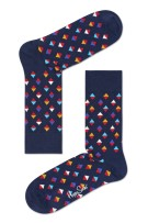 Happy Socks mini diamond donkerblauw