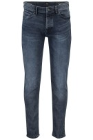 Hugo Boss 5-Pocket Broek Donkerblauw Effen Slim fit