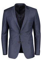 Hugo Boss colbert mix & match Donkerblauw Gemêleerd Slim fit